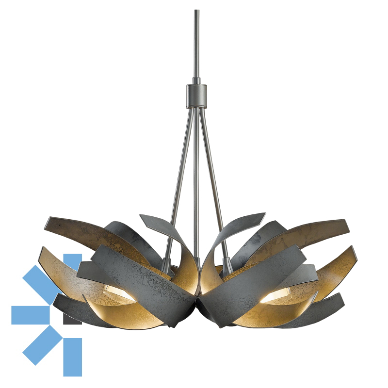 Hubbardton forge the lighting centre online lighting store corona 6 light pendant aloadofball Images