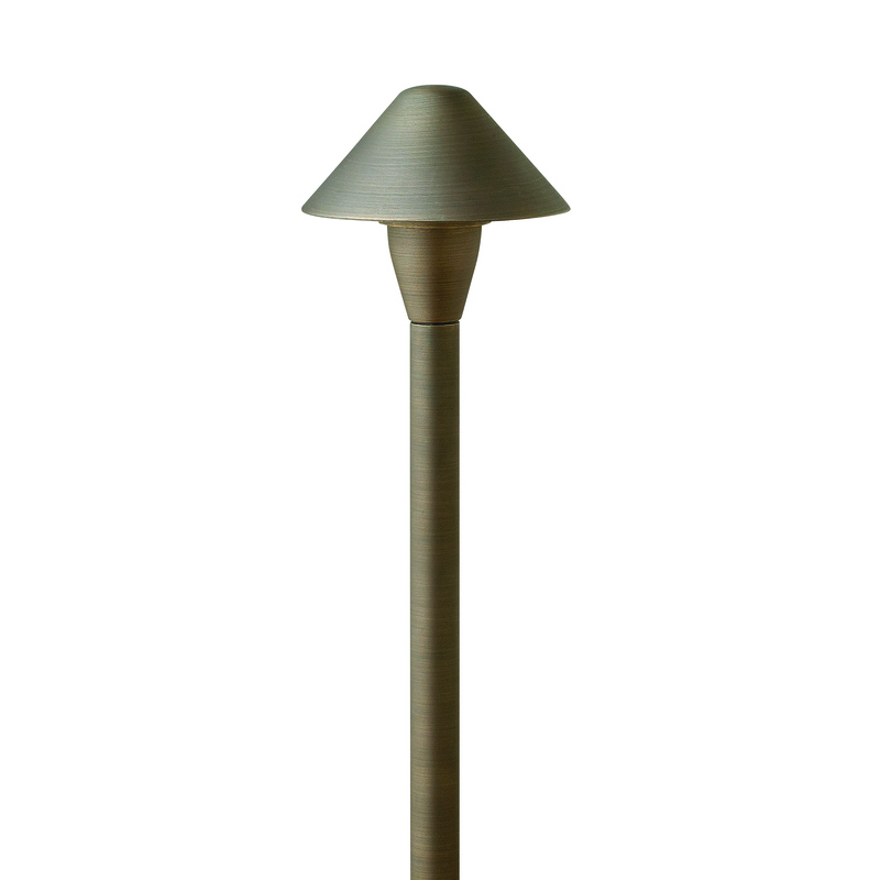 Hardy Island 16016 Brass Path Light 12V