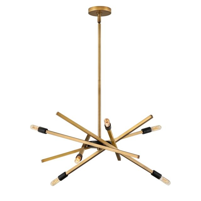 Product image of Archer 660mm Pendant in Brass