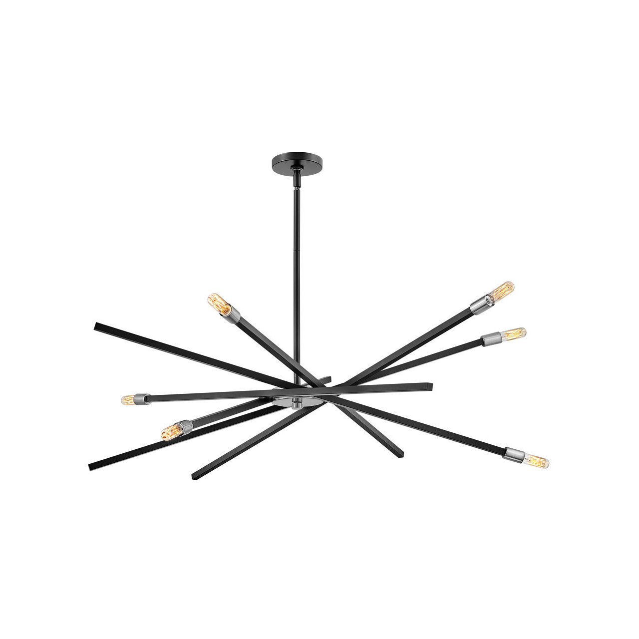 Product image of Archer 1080mm Pendant in Black