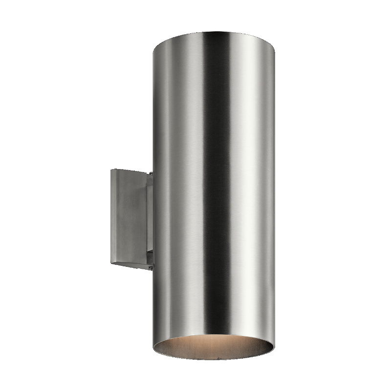 9246 Wall Light Brushed Aluminum