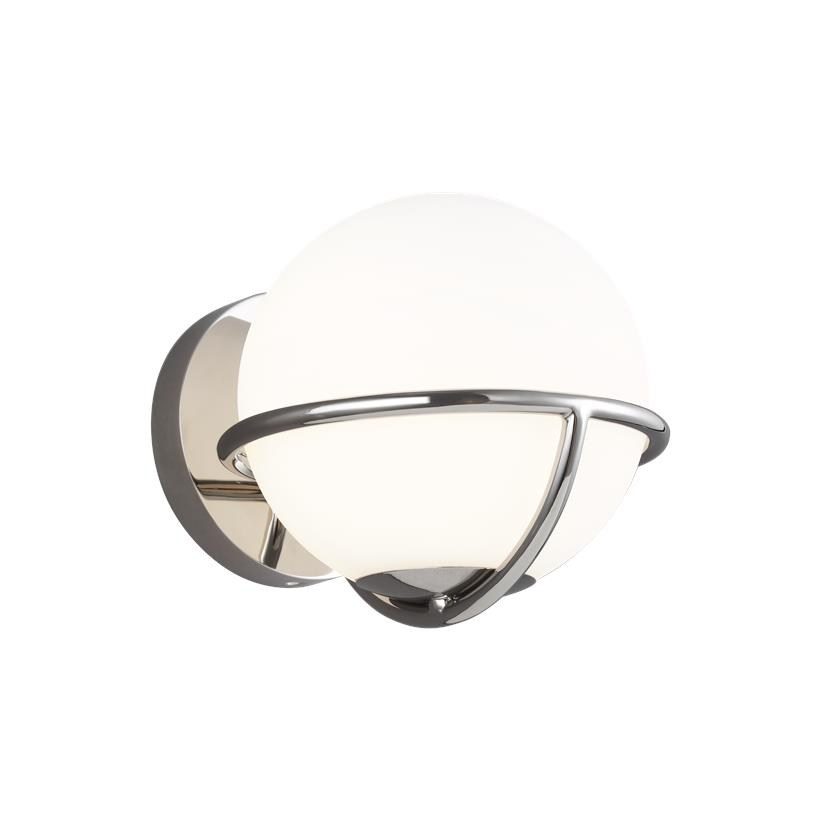 Apollo Wall Sconce Polished Nickel