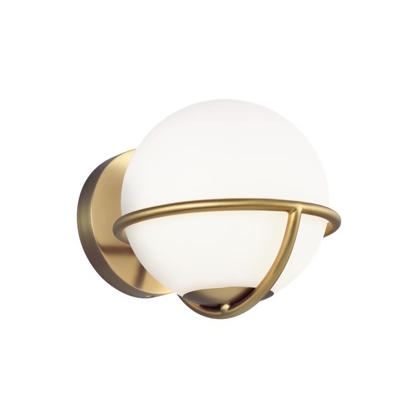 Apollo Wall Sconce Burnished Brass