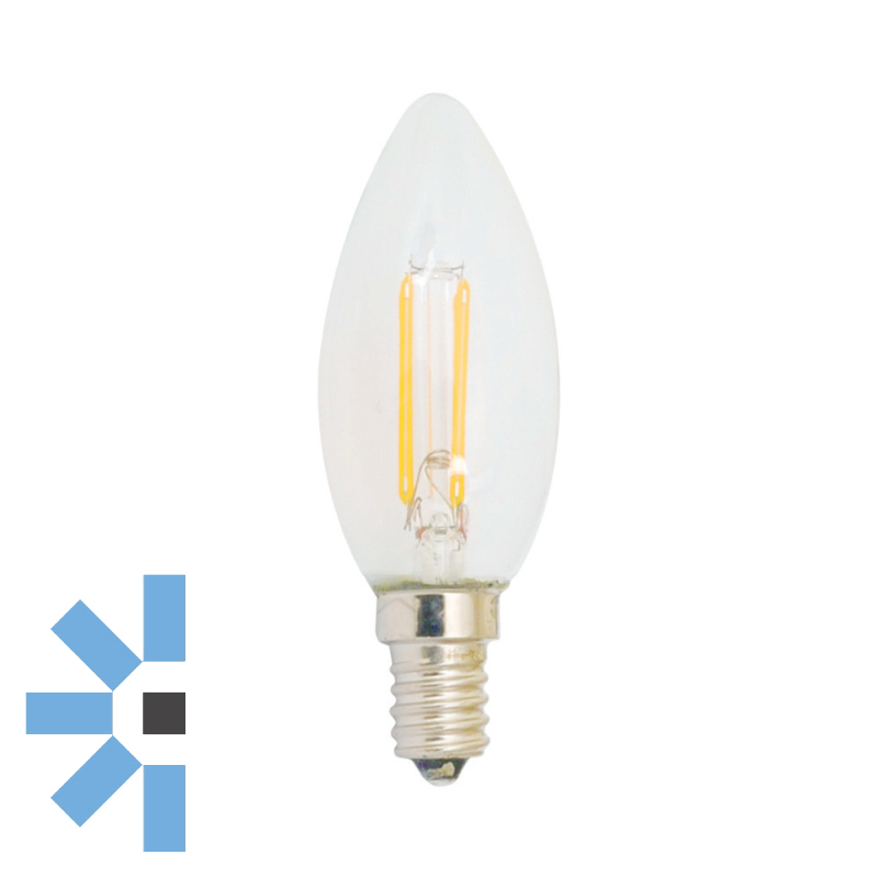 SES Candle 4W 340LM Dimmable