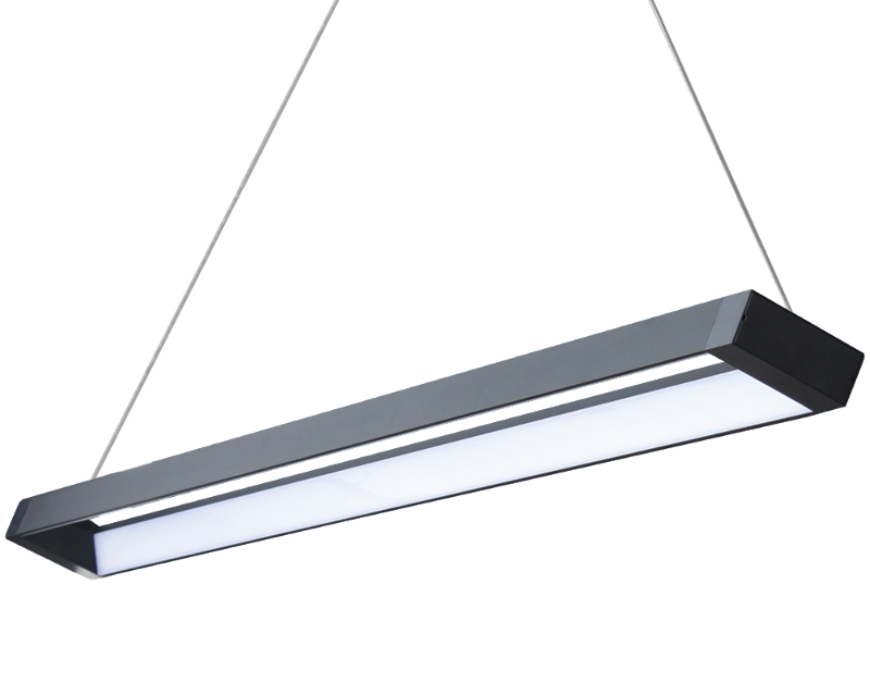 Padrim Linear Pendant LED Black