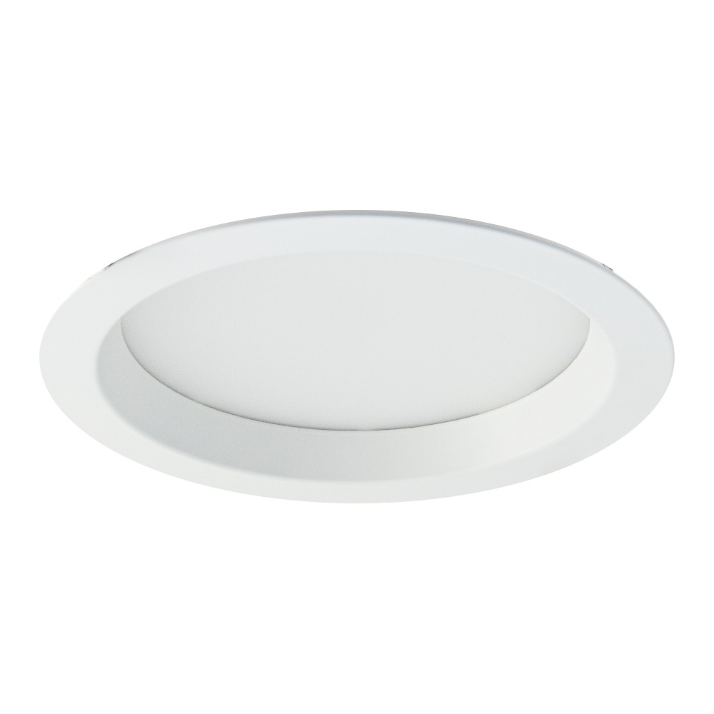 R768 Ecolight 225mm White Downlight