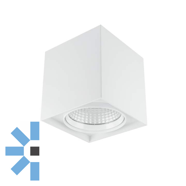 Delta Square 13W Surface Mount