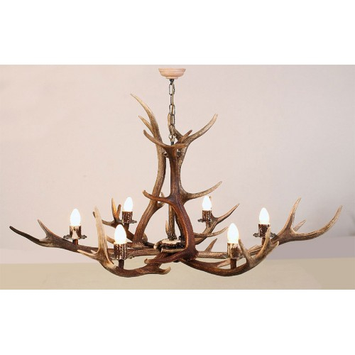 Antler Pendant 6 Light