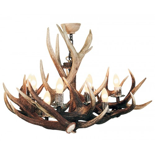 Antler Pendant 9 Light
