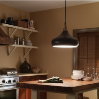 Single Pendant over a kitchen bench