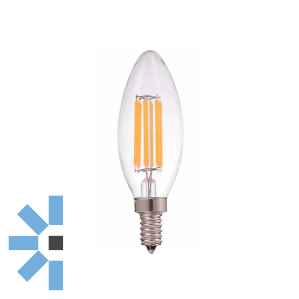 E12 Candle 6W 600lm - Dimmable