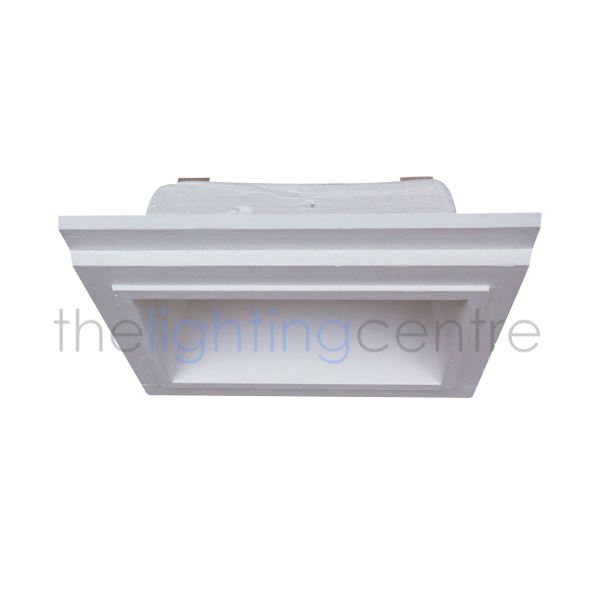 Plasterbox Recessed LED Twin