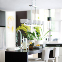 Linear Pendant over a kitchen bench