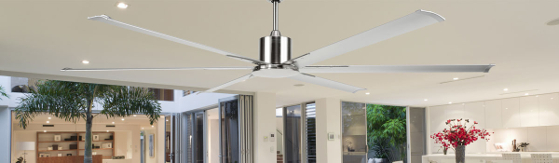 Hercules Ceiling Fan with Metal Blades
