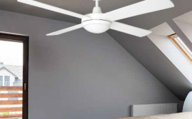 tempest ceiling fan with light