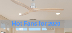 fan in a room with hot fans for 2020 written on image
